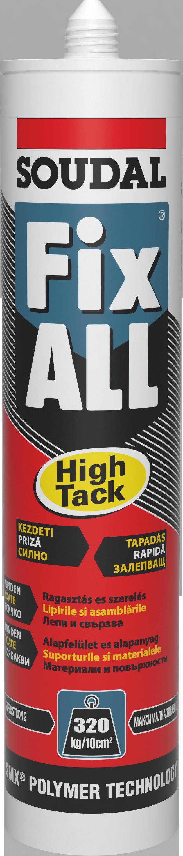 Fix ALL HIGH TACK