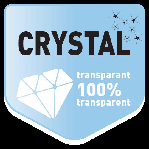 Kristallklar!
